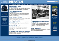College Dispatch website pic