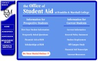 Student Aid Office website pic